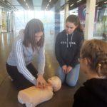 Formation des encadrants et des nageurs au secourisme (PSC1) prévention et secours civique