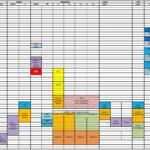 Mise en ligne du planning des entrainements 2019-2020