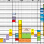 Mise en ligne du planning des entrainements 2020-2021