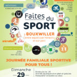 Faites du sport - Centre aquatique Hanautic de Bouxwiller - 29 août