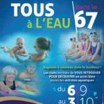 """Opération """"Tous à l'eau"""", organisée par le comité départemental du Bas-Rhin"""